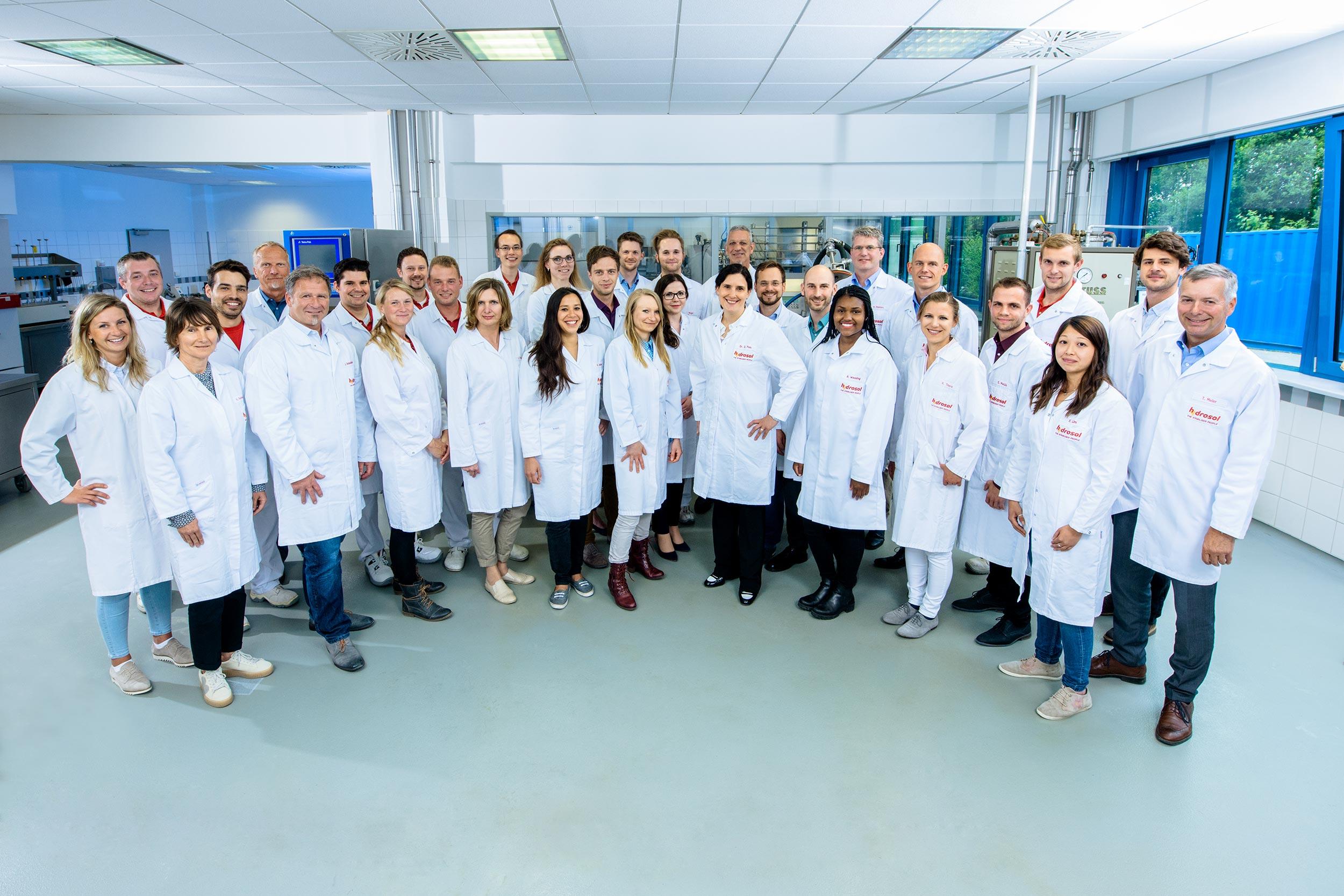 Hydrosol - Kernkompetenzen - Anwendung-Team